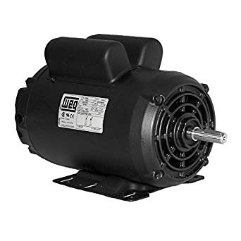 5 hp spl compressor motor electric 56 frame single phase for 5 hp single phase motor