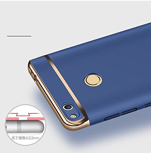 Huawei Honor 8 Funda,Huawei Honor 8 Lite Funda, Huawei Honor 8 Case, Huawei Honor 8 Lite cover, Huawei Honor 8 shell,Manyip Delgado El color, Funda,3 in 1 La combinación de tres párrafos, Protectiva C C