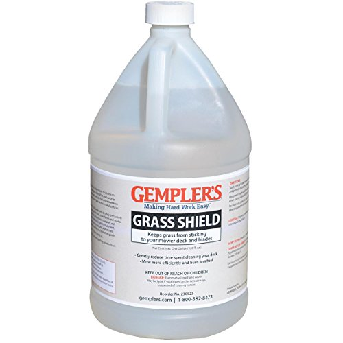 Gempler's Grass Shield Silicone Mower Deck Coating to Keep Grass from Sticking and Protect Equipment