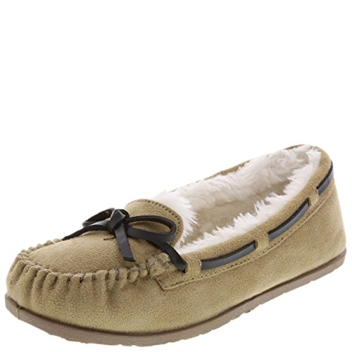 Airwalk Tan Girls' Flurry Moc 11 Regular
