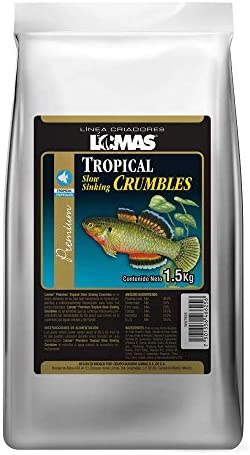Mini pellets para peces tropicales 1