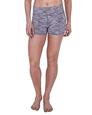 RBX Active Yoga Short with Space Dyed Printed Graphic Design