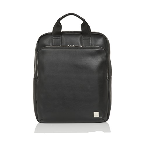 Knomo Luggage Men's Dale Business Backpack, Black, One Size by Knomo (Image #1)