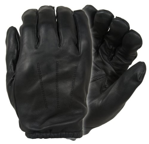 Damascus DFK300 Frisker K Leather Gloves with Kevlar Cut Resistant Liners, Large