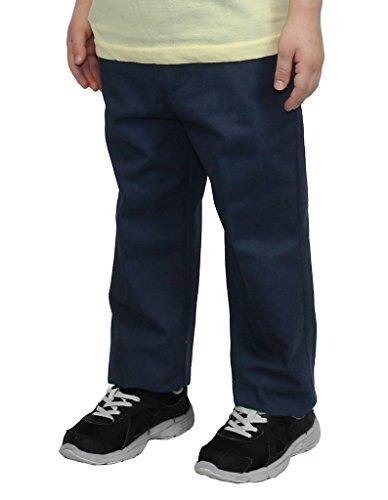 - Authentic Galaxy Boys Navy Flat Front School Pants Size 16 Husky