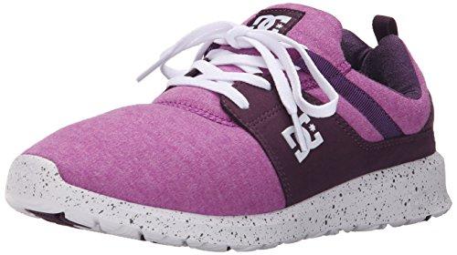 DC Women's Heathrow SE Skate Shoe - Purple - 7 B(M) US