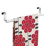 "InterDesign Forma Over-the-Cabinet Bathroom Hand Towel Bar Holder - 14"", Brushed Stainless Steel"