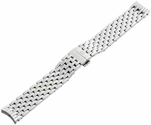 MICHELE MS18EV235009 Serein 18mm Stainless Steel Silver Watch Bracelet