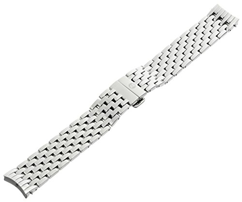 MICHELE MS18EV235009 Serein 18mm Stainless Steel Silver Watch Bracelet