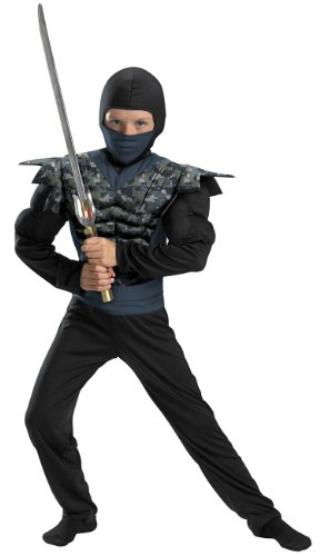 Night (Childrens Camouflage Ninja Costumes)