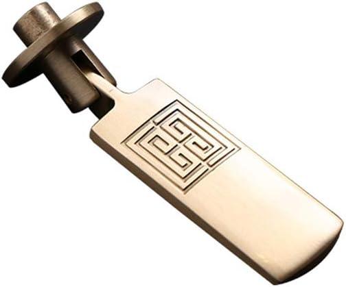 H/ängegriffeMOODSC einzelne Loch-Schrankt/ür-Handgriff aus massivem Kupfer Gold Cabinet Garderobe Modernen Minimalist Nordic Weinklimaschrank High-End T/ürgriff