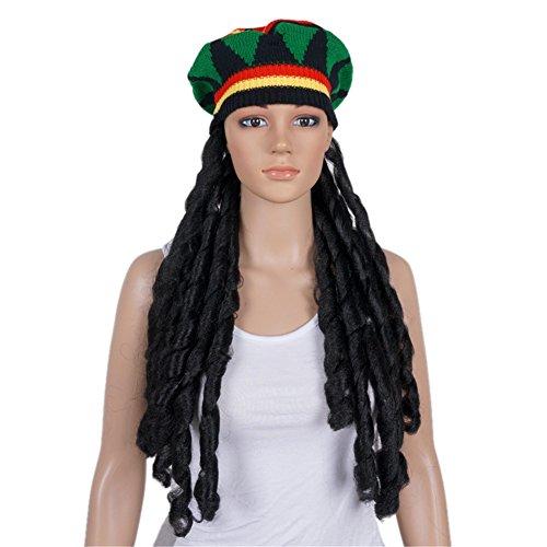 Fashion Black Long Curly Dreadlocks Costume Cosplay Party (Dreadlocks Costumes)