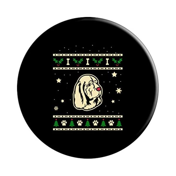 Funny Sussex Spaniel Dog Gift PopSockets Grip and Stand for Phones and Tablets 3