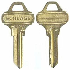 Schlage Everest C123 Key Blanks 5 Pack Amazon Com