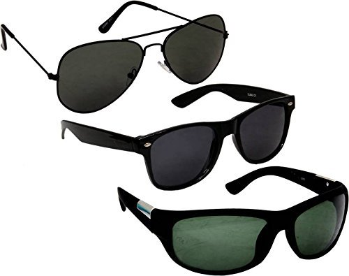 405abfebd0a1 Image Unavailable. Image not available for. Colour  Sheomy UV Protect  Fashion Wayfarer Goggle and Sunglasses ...