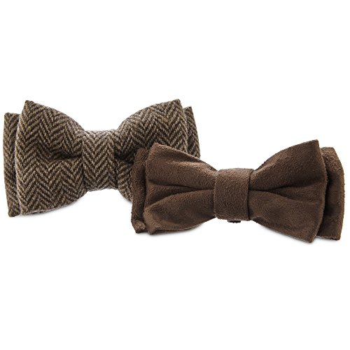 Bond & Co. Herringbone Dog Bowtie Set, 2PK Bow Tie Pickups