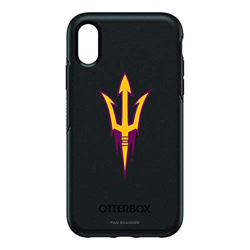 Fan Brander NCAA iPhone XR OtterBox Symmetry Series Case (Arizona State Sun Devils)