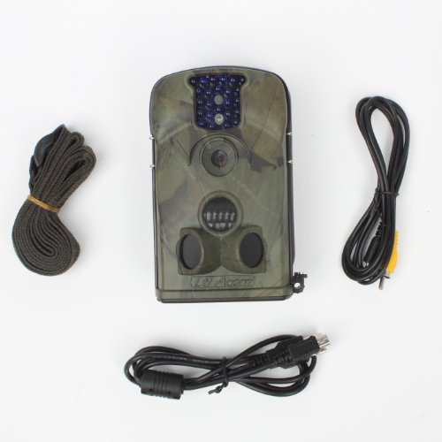HKCYSEA New 12MP 5210A Trail Scouting Hunting Game Spy Wildlife Camouflage Infrared Digital Video Camera with Night Vision,IP 54 Waterproof Perfect For Safe & Outdoor Use by HKCYSEA (Image #4)