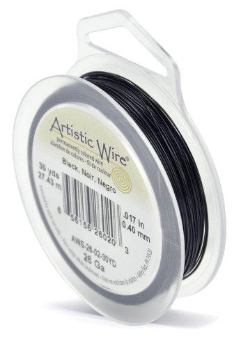 - Artistic Wire 26-Gauge Black Wire, 30-Yards