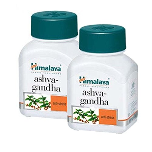 Himalaya Ashwagandha 60 капсул - Комплект из 2