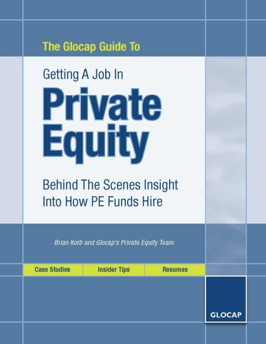 Download The Glocap Guide To Getting A Job In Private Equity pdf