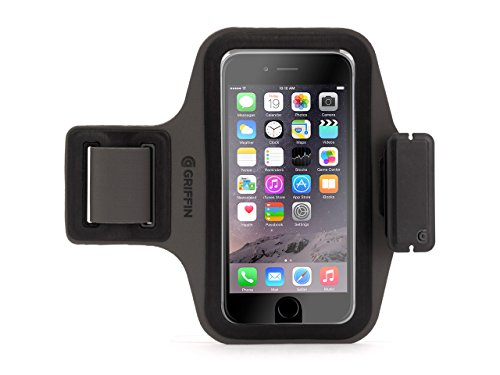 Black Trainer Plus, Lightweight Armband for iPhone 6/6s