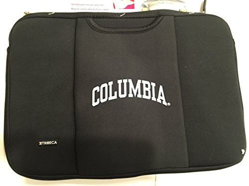 - Tribeca Columbia Black Laptop Sleeve for 15-inch to 16-inch Laptop and Macbook Pro Notebook Breathe Sleeve