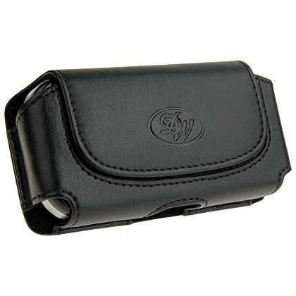 Leather Carrying and Protection Case (Perfect Fit) for Verizon Wireless Blackberry Storm 9530, ATT Samsung sgh-i607 Blackjack-I, sgh-i617 Blackjack-II, A827 Access, SPH-i325 ACE, Sprint m800 Instint, PANTECH Slate c530, Motorola (Blackjack Sgh I607 Cell Phone)