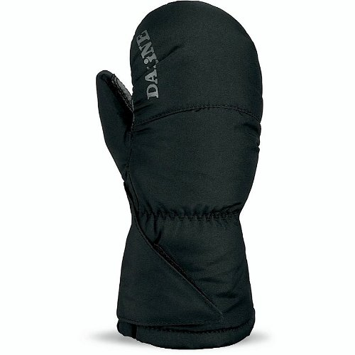 Snowboard Dakine Black Glove (Dakine Boy's Brat Mitt, Black, Toddler Medium)