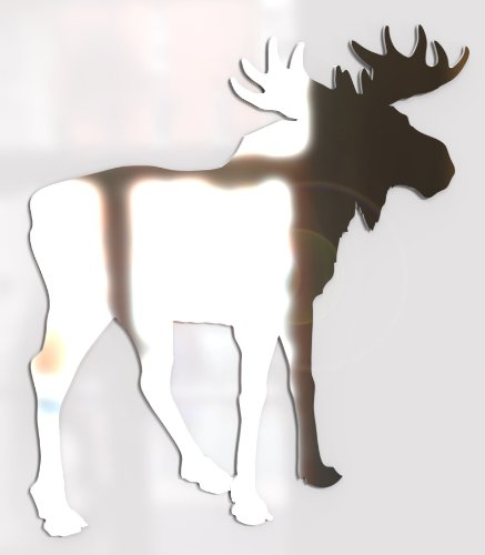 Paranoid Penguin Wall Mirror Bathroom Mirror Any Room Moose Elk Canada Animal -