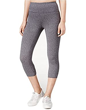 Calvin Klein Performance Keyhole-Back Capri Leggings