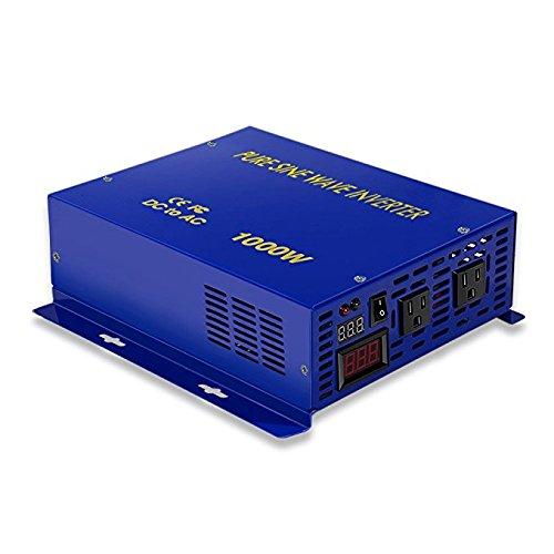 1000W 48V DC to 120V AC Pure Sine Wave Inverter
