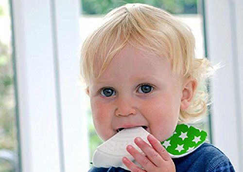 Apanda Baby Bandana Teething Bibs (5-set) with BPA-Free Silicone Teether and Water-Resistant Snap for Boy and Girl by ApandaBaby (Image #2)