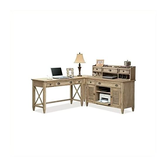 Riverside Furniture Coventry Writing Desk in Weathered Driftwood - Riverside Coventry Writing Desk - writing-desks, living-room-furniture, living-room - 41bIKy3lJTL. SS570  -