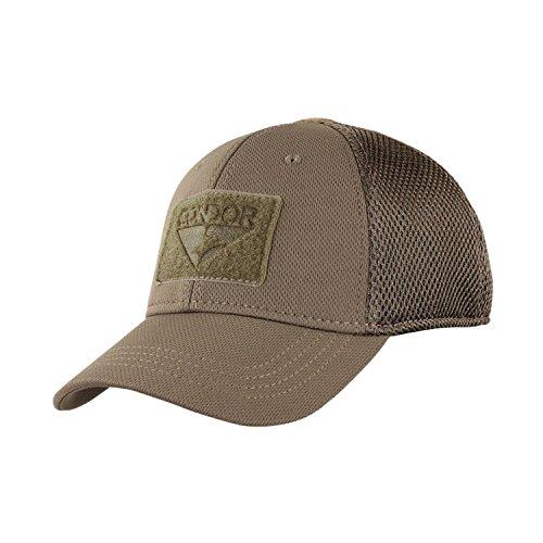 Condor Tactical Mesh Flex Cap - Brown - Large / X-Large