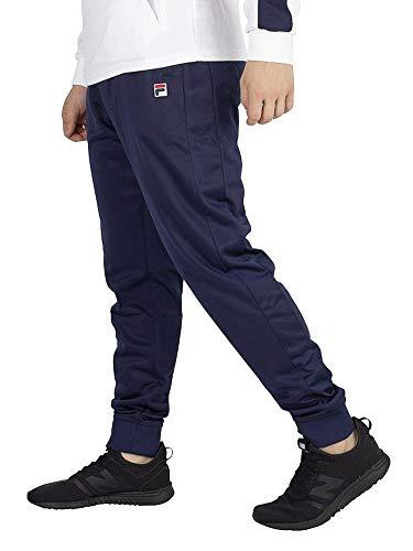 Fila Men's Kit Jogger Track Pants, Peacoat, Large (Mens Fila Sport Fleece 2-0 Jogger Pants)