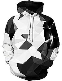 Men's Patterns Print Athletic Sweaters Fashion Hoodies Sweatshirts