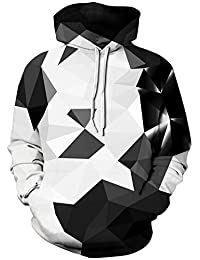 Imilan Athletic 3D Animal Galaxy Print Hoodie Sweatshirt