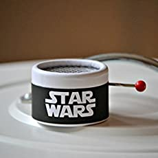 Star Wars Music box. Hand Cranked. Perfect gift for movie fans. Gift packaging.