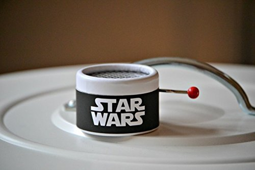 Star Wars Music box. Hand Cranked. Perfect gift for movie fans. Gift packaging