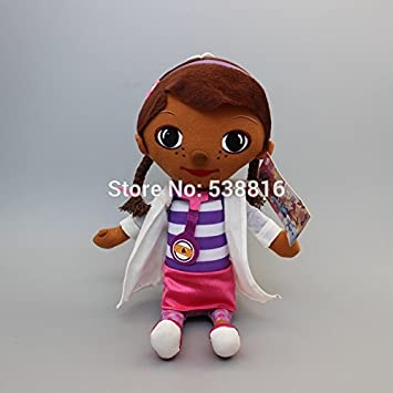 Amazon Com 33cm Doc Mcstuffins Doctor Girls Plush Stuffed Dolls