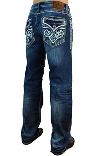 ur Seattle Relaxed Straight Denim 31 (Affliction Clothing Jeans)