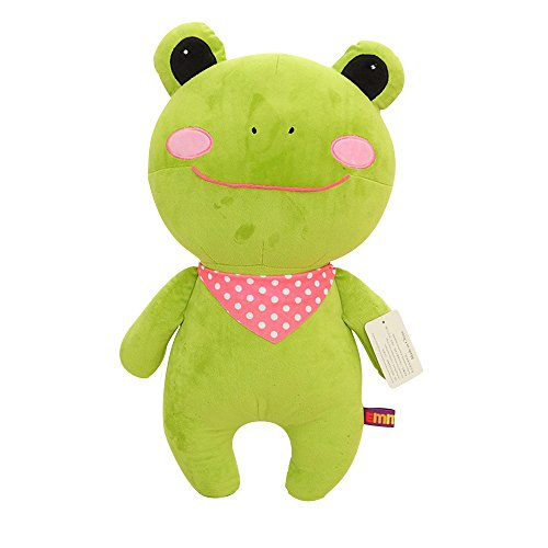 Cute Stuffed Animals Doll Big Mouth Green Frog Plush Toys Doll,Boy Girl Birthday&Xmas Gift(1pc,16.1In)