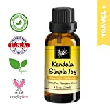 You want to live your life at its fullestKandala Simple Joy Essential oil blend is a mixture of premium oils of Lavender, Ylang Ylang, Palmarosa, Mandarin, and Lemon. The herbs' calming and relaxing properties offer comfort in times of emotional stre...