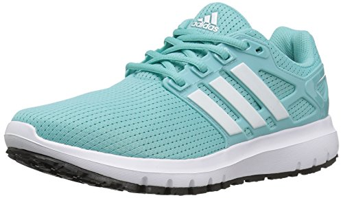 adidas Performance Women's Energy Cloud Wtc W Running Shoe, Easy Mint/White/Black, 10.5 M US by adidas