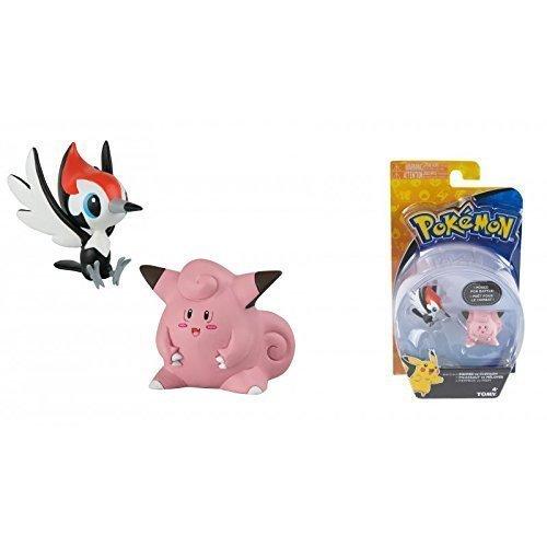 Pokemon Actionfiguren Set / Sammelfiguren / Battlepacks Peppeck VS Piepi / Pikipeck VS Clefairy lively moments