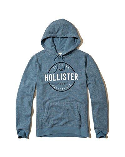 hollister-mens-hoodie-sweatshirt-pullover-m-blue-7777