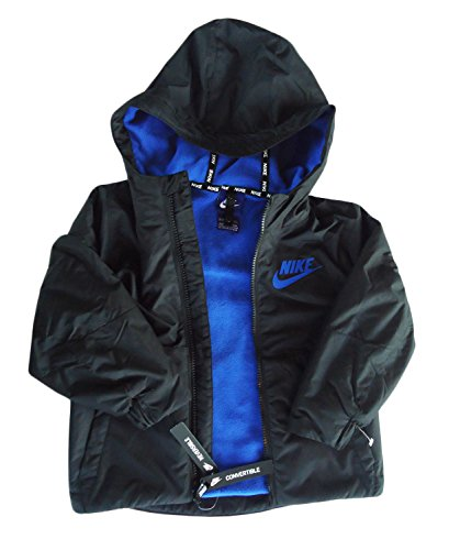 Nike Boys Zip Up Hoodie (Black, 3T) by NIKE