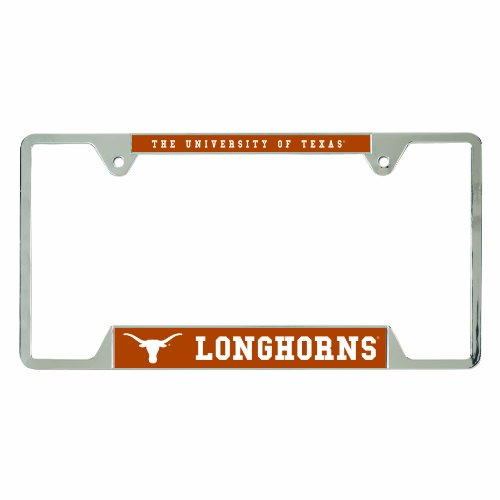 NCAA Texas Longhorns Metal License Plate Frame