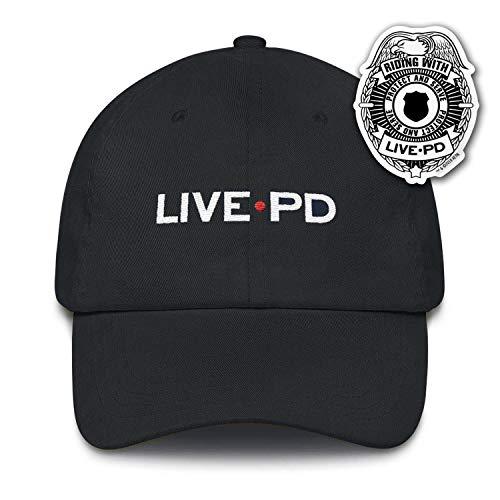 Live PD Logo Embroidered Hat Black